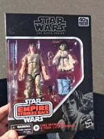 "Star Wars Black Series 6"" Yoda + Luke Skywalker Empire Strikes Back Sealed New"