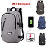 Ordinateur Portable Notebook Backpack USB Port de Charge Voyage Sac école SP
