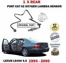 FOR LEXUS LS400 1UZ-FE 1994-2000 1 X REAR LOWER POST CAT 02 OXYGEN LAMBDA SENSOR