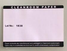 "500 Sheets Cleanroom Paper 8-1/2"" x 11"" Green Lot No.: 1838 500 Sheets"