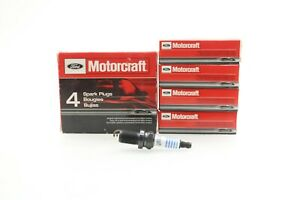 NEW Motorcraft Spark Plugs Set of 4 SP-406 for Toyota Honda Buick Ford Mercury