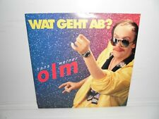 Hans Werner Olm - Wat geht ab   7`Single