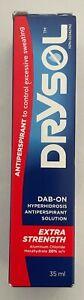 Drysol Extra Strength DAB-ON 20% Anti-Perspirant 35 ML
