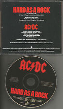 AC/DC AC DC ACDC Hard As A Rock PROMO DJ CD Single 1995 PRCD 9337 USA MINT