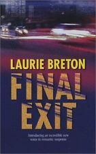 Final Exit Romantic Suspen Mass Market Breton, Laurie
