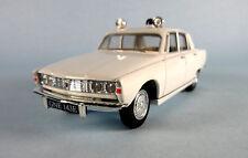 LLEDO VANGUARDS Rover 2000 Police (White) 1/43 Scale Diecast Model NEW, RARE!