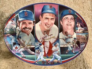 Fenway Traditions Sports Legends Plate (Boggs, Williams, Yaz)