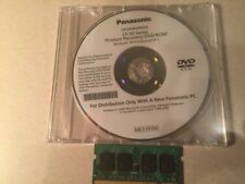 Panasonic Toughbook CF-30 MK3 Recovery DVD Windows XP Pro SP2