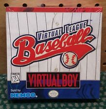 Virtual League Baseball for Nintendo Virtual Boy - Brand New & Sealed!