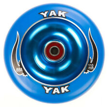 100mm x 88a blue YAK SCAT Metalcore Scooter Wheel with bearings