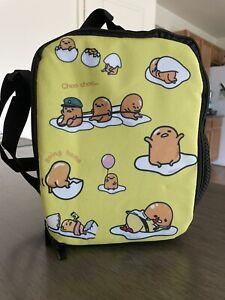 Gudetama Insulated Lunch Bag/Bento Bag - Japanese Egg - Yellow - Condition: New