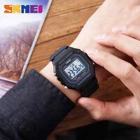 SKMEI Men Sports Watch 50m Waterproof Alarm Chrono Military Digital Watch 1496
