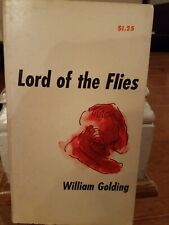 LORD OF THE FLIES BY WILLIAM GOLDING 1959 pb