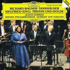 Wagner: Tannhäuser, Siegfried-idyll, Tristan Und Isolde / Karajan, Norman - CD