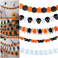 300cm Happy Halloween Banner Bunting Garland Pennant Flag Hanging Party Decor