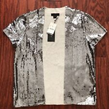 NWT J Crew Collection Stardust sequin cardigan Size M