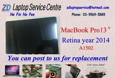 """Screen Display for Apple Macbook Pro 13"""" A1502 Retina year 2014 replacement"""