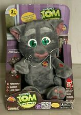 NIB Dragon -i Toys Official Talking Tom Talk Back Animated Repeats What You Say