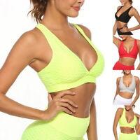 Damen Sport BH Yoga Bra Unterwäsche Frauen Fitness Bustier Frauen Sexy Top