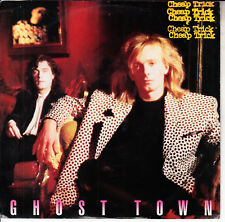 "CHEAP TRICK  Ghost Town PICTURE SLEEVE 7"" 45 record NEW + jukebox title strip"