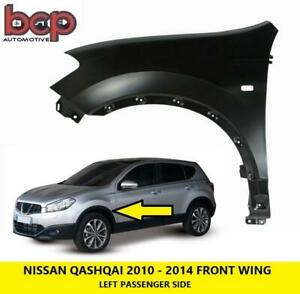 NISSAN QASHQAI FRONT WING 2010 - 2014 LEFT PASSENGERS SIDE INSURACNE APPROVED