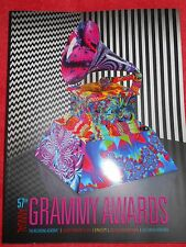 Official 2015 57Th Grammy Awards Program Sam Smith Sia Beck Priority Shipping