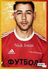 NICK JONAS HERO MAGAZINE SUMMER ZINE 2017 Ari Marcopoulos Gosha Rubchinskiy