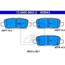 ATE Bremsbelagsatz Scheibenbremse NISSAN CUBE (Z12)  NISSAN MURANO (Z50)  NISSA