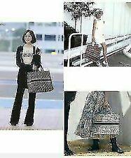 WOMEN embroidery fashion Vintage large capacity canvas handbag