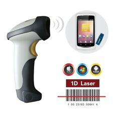 CT10 USB Wireless Bluetooth Barcode Scanner Reader For iphone iOS Android+Holder