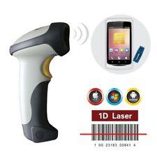 Kabellos Bluetooth Barcode Scanner Strichcode Lesegerät für iOS