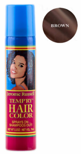 Jerome Russell Temporary Hair Color Spray, 2.2 onz, Brown 2 -,PK