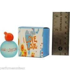 *I love love  * Cheap and Chic * Moschino * mini perfume  * 4.9 ml edt splash W*