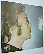 JOHN LENNON - IMAGINE - APPLE 1971 LP - WITH POSTER - EXCELLENT CONDITION