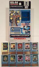 Megaman Operation Battle Advanced PET Starter Deck - Thunderman OS-04 Rockman