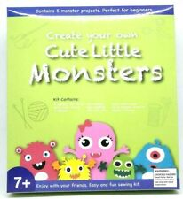 Little Monsters Sewing Craft Kit for Kids - Do it Yourself Felt - Christmas Gift