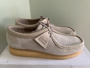 Mens Clarks Wallabees Originals 10.5M Sand New York Philly Hip Hop Wu Tang