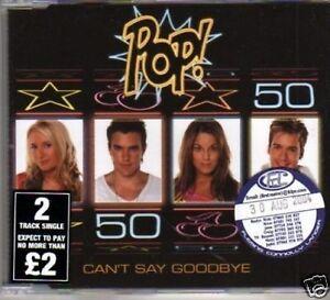 (255W) Pop!, Can't Say Goodbye - DJ CD