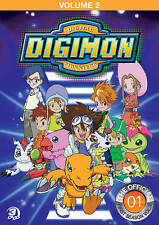 Digimon: Digital Monsters - The Offical First Season, Vol. 2 (DVD, 2013, 3-Disc