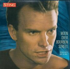 45 TOURS--STING--MOON OVER BOURBON STREET--1985