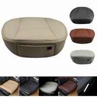 Universal Auto Sitzauflage Sitzbezüge Sitzkissen PU Leder Sitzmatte Schutz Matte