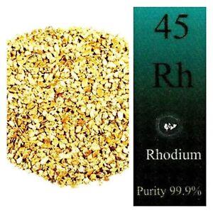 50 PIECE LOT ALASKAN NATURAL GOLD NUGGETS +1/10 GRAIN 99.9% PURE RHODIUM CRYSTAL