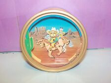 San Francisco Music Box Co Happy Trails Bouncing Bear On Horse