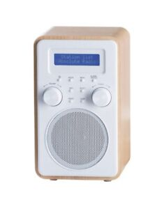 ***BRAND NEW*** Tesco Wooden Tower DAB Digital FM Radio DR1502B