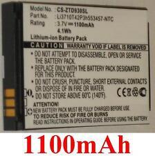 Batterie 1100mAh type Li3710T42P3h553457-NTC Pour ZTE Chorus, ZTE D930