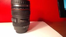 Coffee Cup Travel Mug 24-105mm Camera Lens Stainless Steel Thermos Caniam