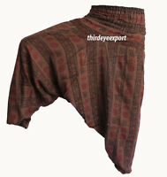 Indian Ali Baba Harem Pants Women Boho Hippie Gypsy Baggy Yoga Trousers Dance*