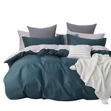 NEW Gioia Casa Logan 100% Cotton Stylish Design Reversible Quilt Cover Set Multi