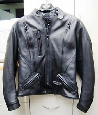 Harley Davidson Womens FXRG Armored Leather Jacket SZ MED/MID-WEIGHT 98504-99VW