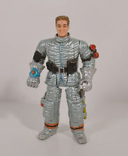 "3.5"" Silver Fireman or Astronaut w/ Axe Action Figure Chap-Mei"